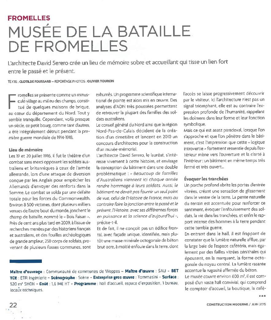 Musée de la bataille de Fromelle