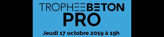 Deuxième édition du Trophée Béton «pro»