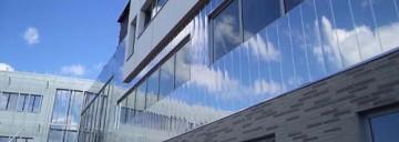 Bardage Collège Egène Thomas à Le Quesnoy