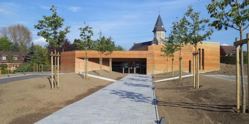 Mus e de la bataille de fromelles tommasini construction for Construction piscine valenciennes